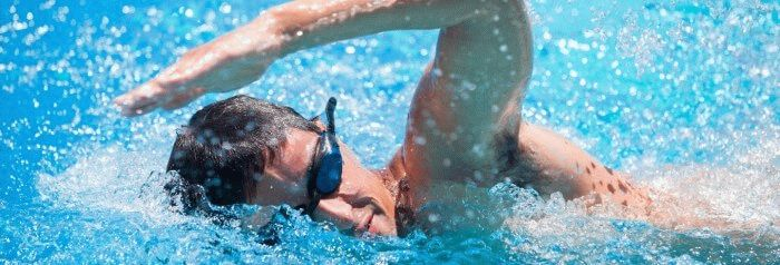 head position is the key to swim faster